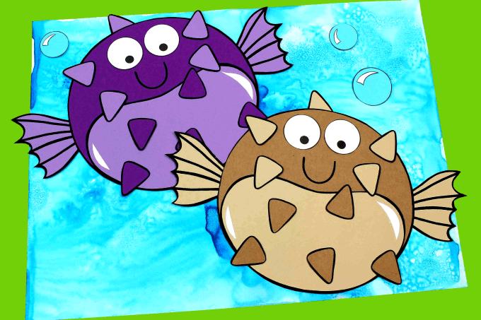 Hoạt động STEAM vẽ tranh đại dương bằng muối