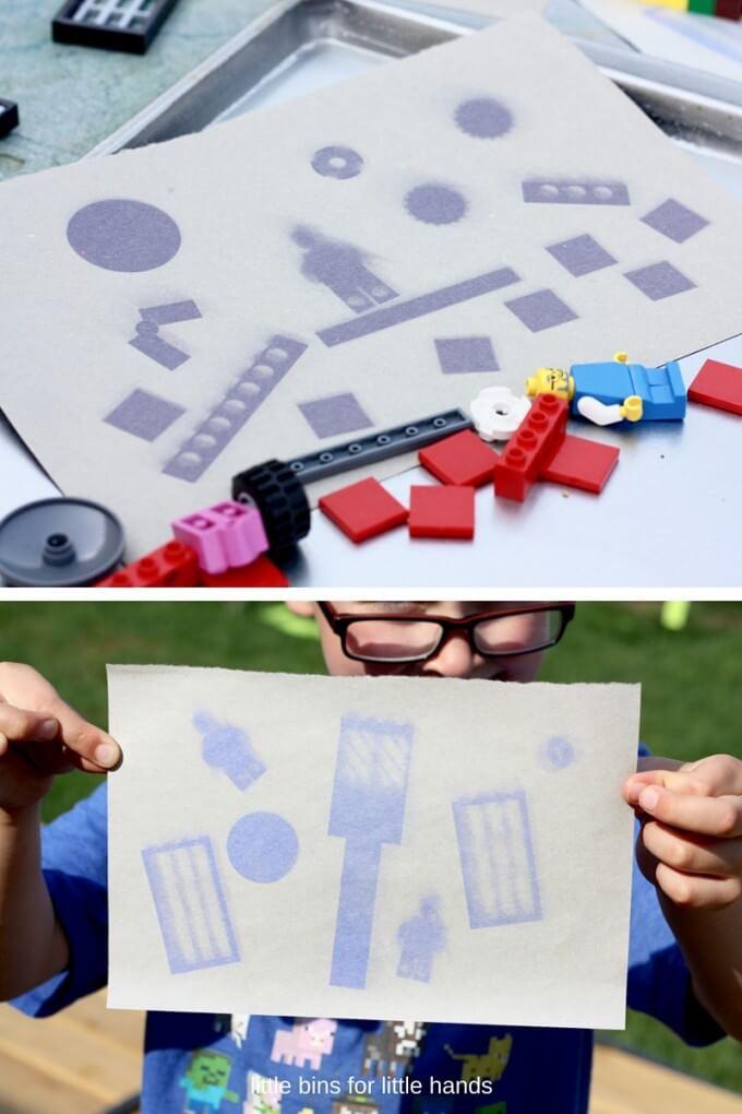 Kết quả hoạt động STEM ngoài trời: Vẽ LEGO