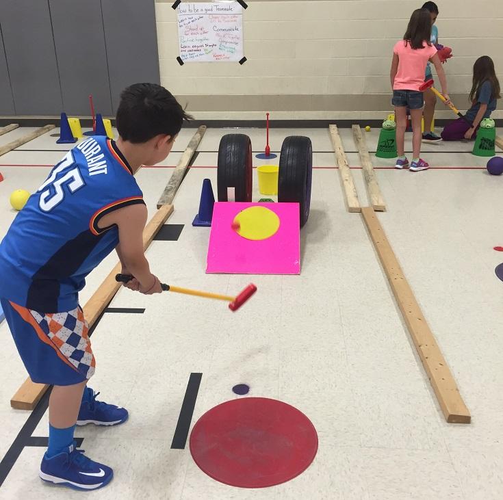 Ý tưởng về hoạt động STEM thế chất: Sân Golf Mini