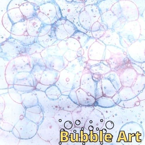 Hoạt động STEAM vẽ tranh nghệ thuật bong bóng