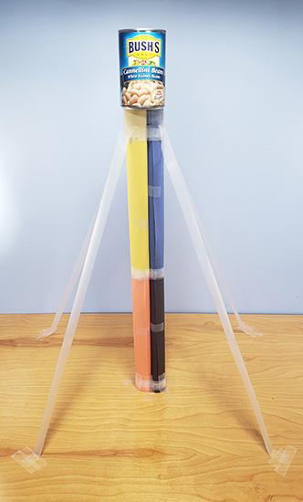Hướng dẫn cách làm tháp từ giấy báo