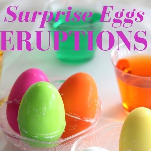 Thí nghiệm STEM: Tạo vụ nổ trứng bất ngờ