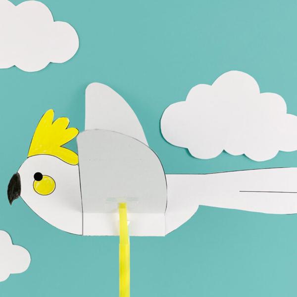 Cách xếp chim bằng giấy đơn giản (Có kèm mô hình)