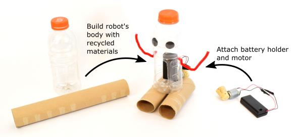 Cách thiết kế robot tái chế