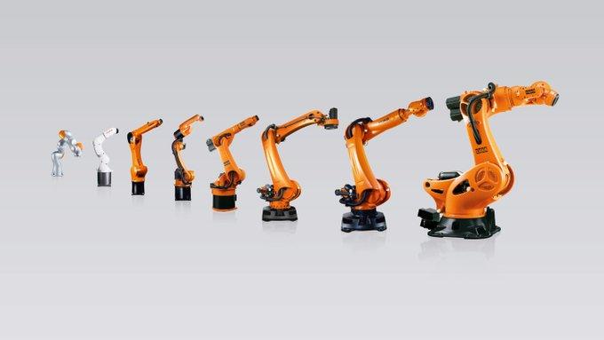 Phân loại cánh tay robot gắp sản phẩm