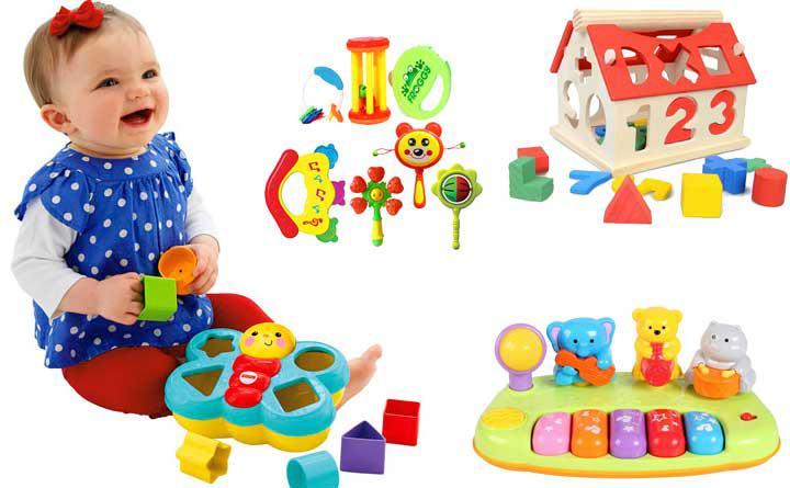 Đồ chơi thông minh cho bé 1-2 tuổi