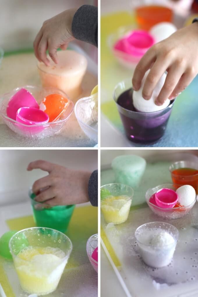 Thí nghiệm STEM vụ nổ trứng bất ngờ