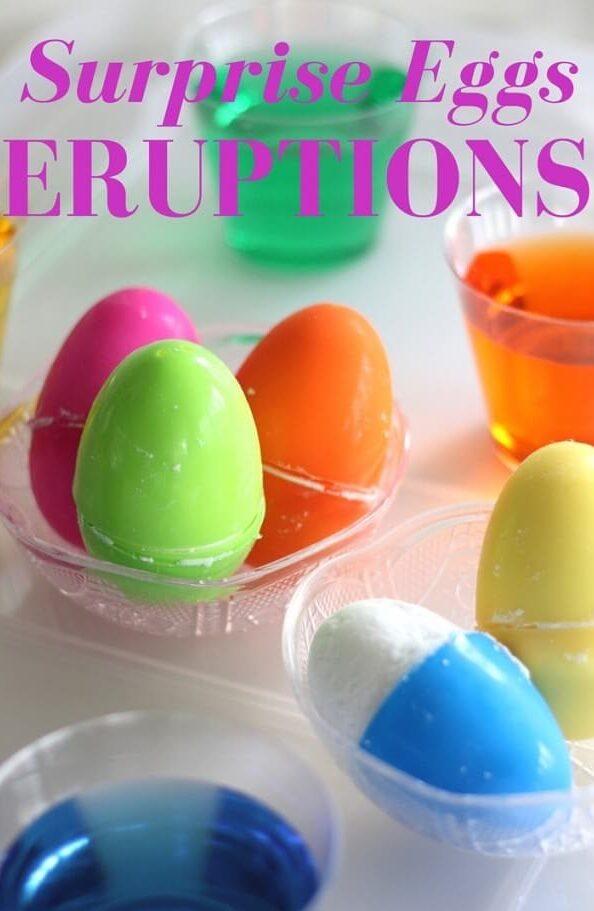 Thí nghiệm STEM tạo vụ nổ trứng bất ngờ