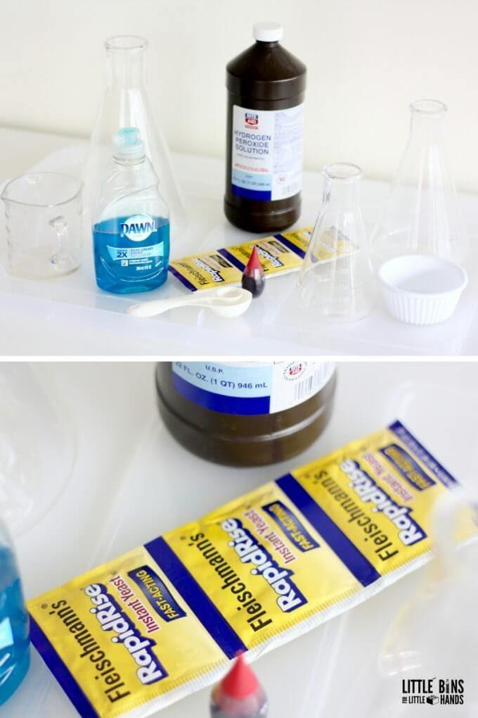 Phản ứng hóa học (Thí nghiệm STEM đơn giản)