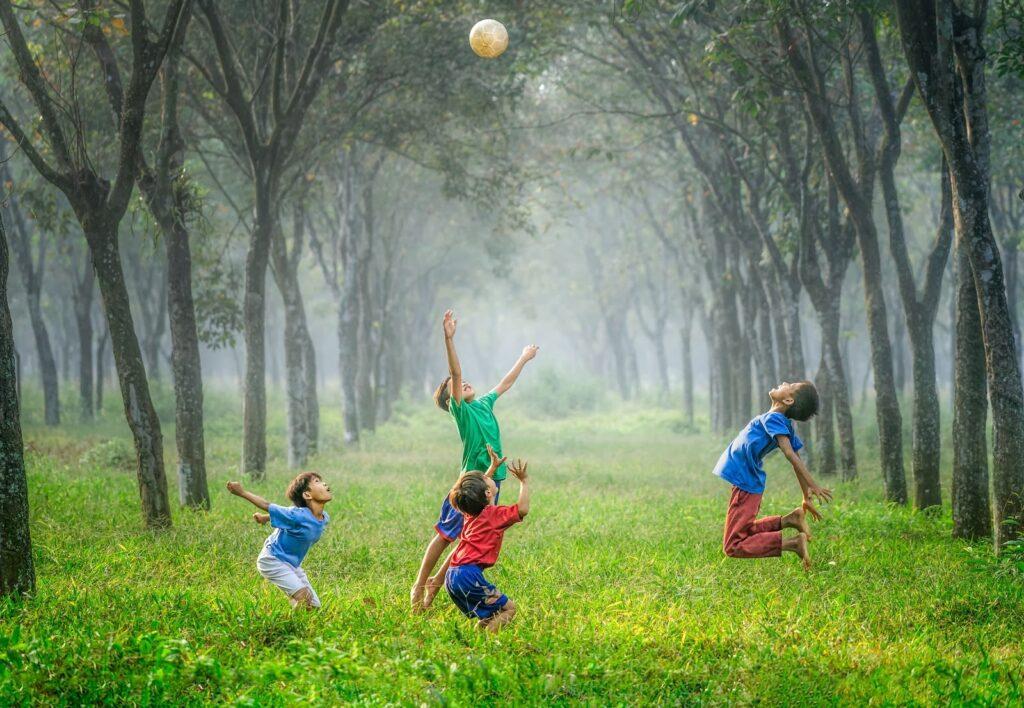 Bức tranh tổng quan về vai trò của hoạt động vui chơi