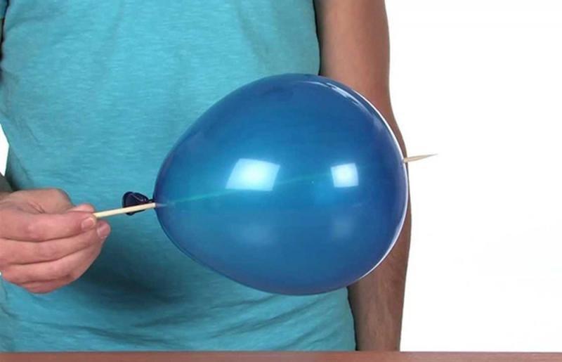 Thí nghiệm STEM: chọc que vào bóng mà không làm vỡ bóng