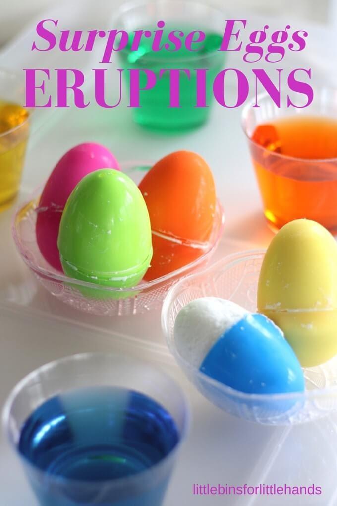 Thí nghiệm STEM về vụ nổ trứng
