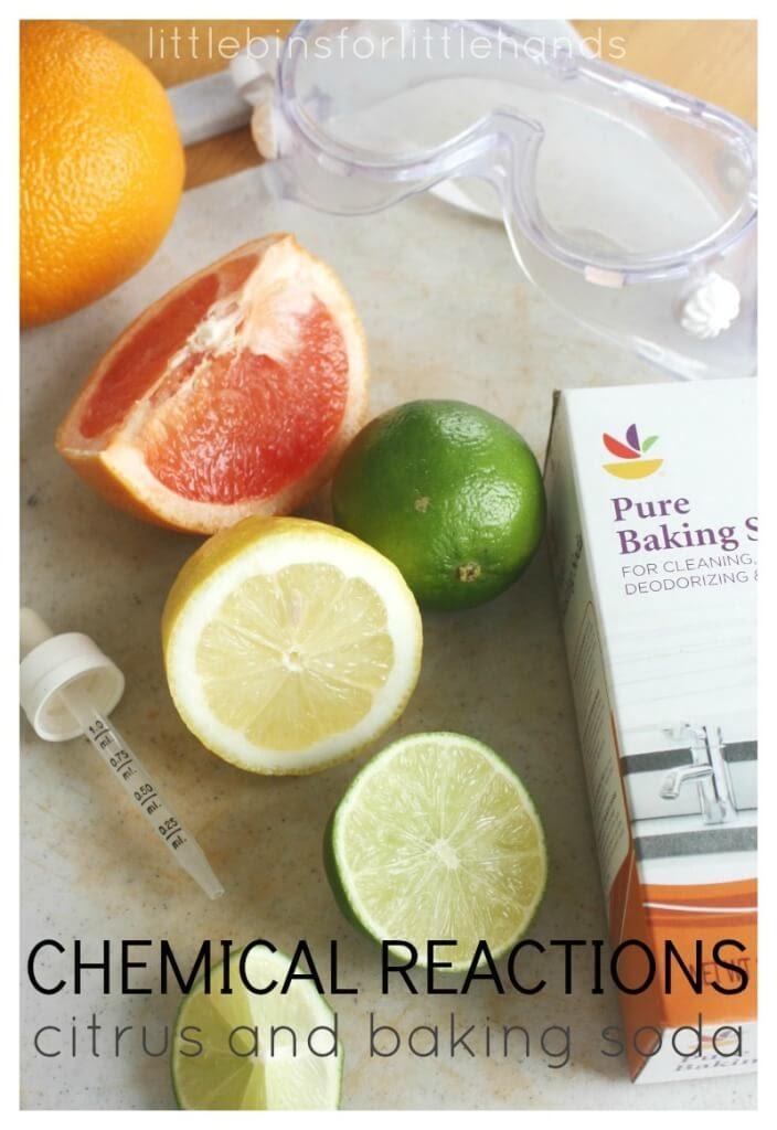 Mô hình STEM thử nghiệm axit citric và muối nở