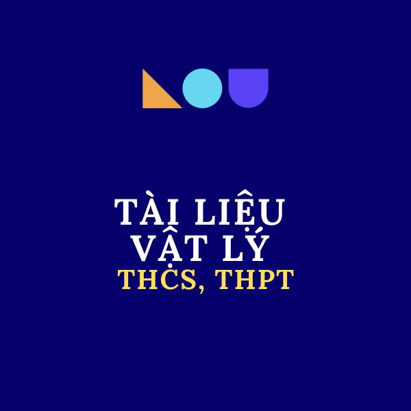Tài liệu Vật Lý 9, THPT