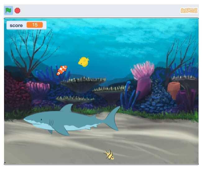 Một số trò chơi nổi bật trong lập trình Scratch