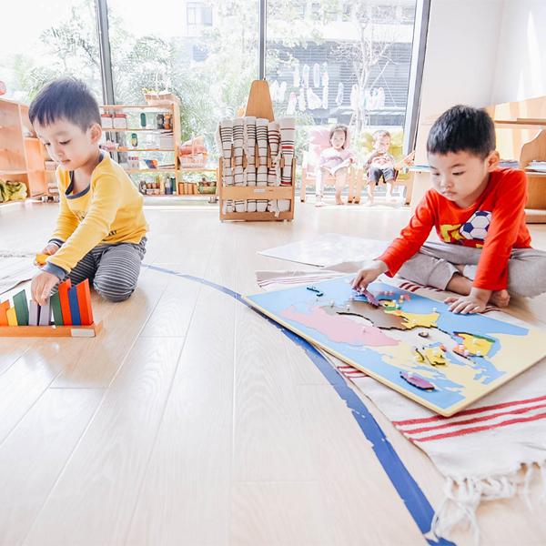 Lợi ích của mô hình giáo dục Montessori