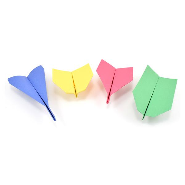 Cách gấp máy bay giấy đơn giản cho bé