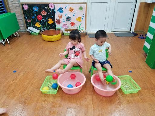 Các bài tập phát triển trí tuệ cho bé mầm non