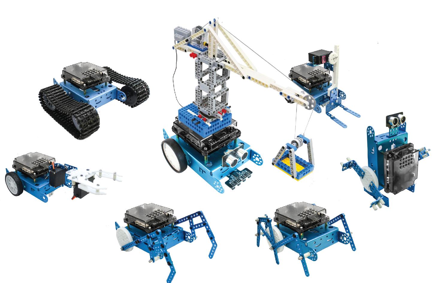 Khả năng mở rộng vô hạn cùng robot lập trình xBot