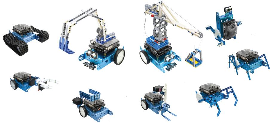Nâng cấp robot lập trình STEM robot kit xBot dễ dàng