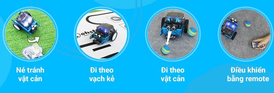 Các tính năng thông minh của robot lập trình xBot