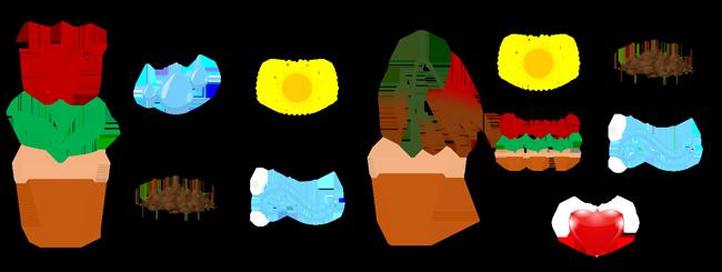 Trò chơi học tập chủ đề thực vật cho bé