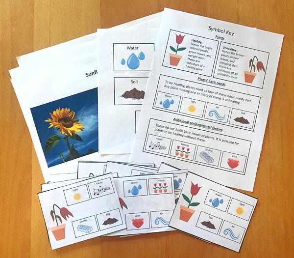 Trò chơi học tập chủ đề thực vật