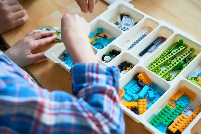 Trò chơi lắp ghép robot cho trẻ
