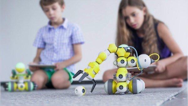 Lợi ích của trò chơi lắp ghép robot