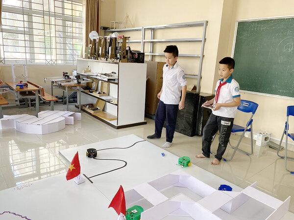 Một lớp học cần phải phục vụ cho nhiều hoạt động khác nhau của trẻ