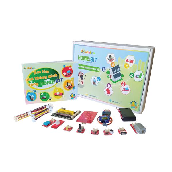 Ngôi nhà đồ chơi lắp ráp Home:Bit