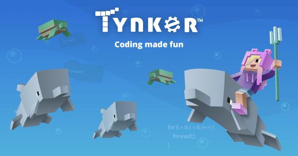 Nền tảng viết mã, học lập trình cho trẻ em Tynker
