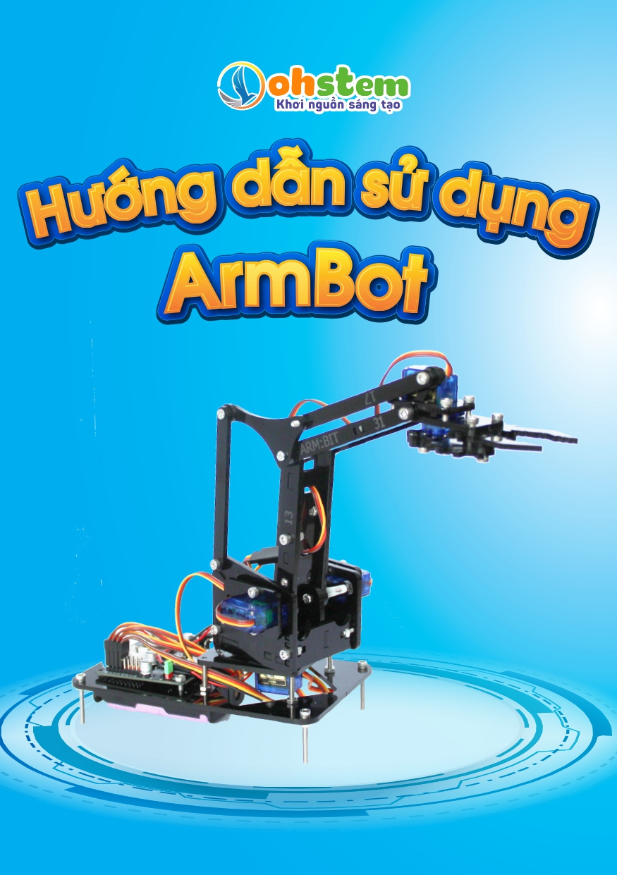 Hướng dẫn lập trình ArmBot