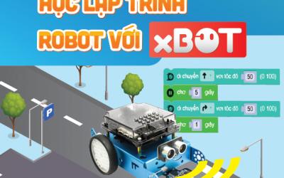 Hướng dẫn làm quen và lập trình xBot bằng khối lệnh