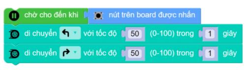 Chương trình di chuyển cơ bản trên xBot
