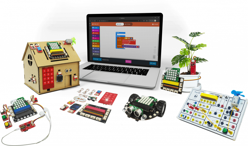 Đồ chơi giáo dục Yolo:Bit - Công cụ làm quen với lập trình thú vị