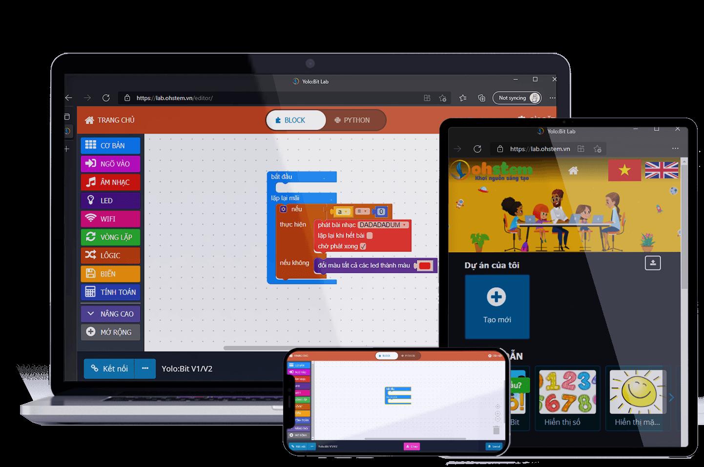 Đồ chơi giáo dục YoloBit - Công cụ làm quen với lập trình thú vị