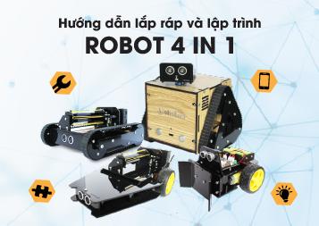 Hướng dẫn lập trình robot 4 in 1