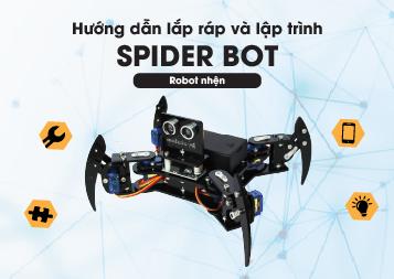 Hướng dẫn lập trình robot nhện SpiderBot