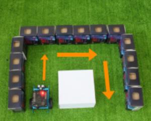 Hướng dẫn lập trình robot giải mê cung