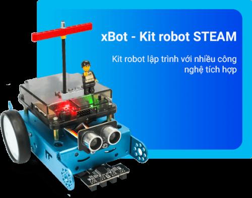Sản phẩm xBot hỗ trợ dạy học STEM