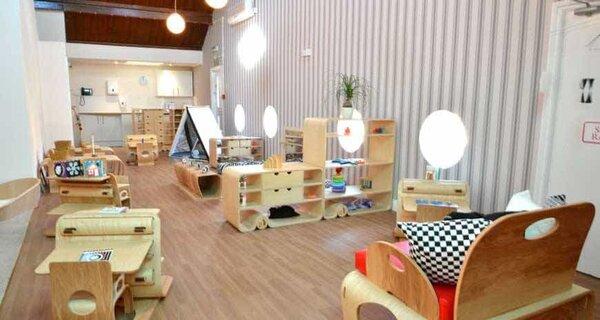 Không gian lớp học Montessori tại nhà