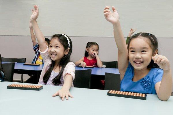 Học toán Soroban khiến trẻ không còn cảm thấy sợ với môn học đòi hỏi tư duy này