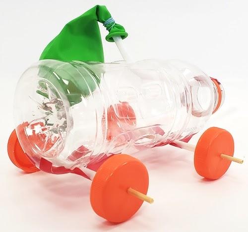 Mô hình sáng tạo bảo vệ môi trường xe khinh khí cầu