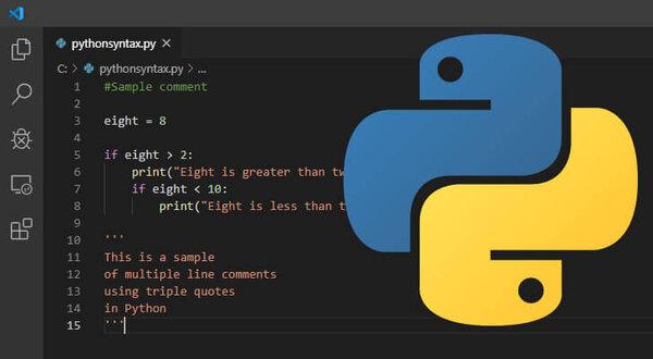 Một chương trình đã được lập trình sẵn bằng ngôn ngữ lập trình Python