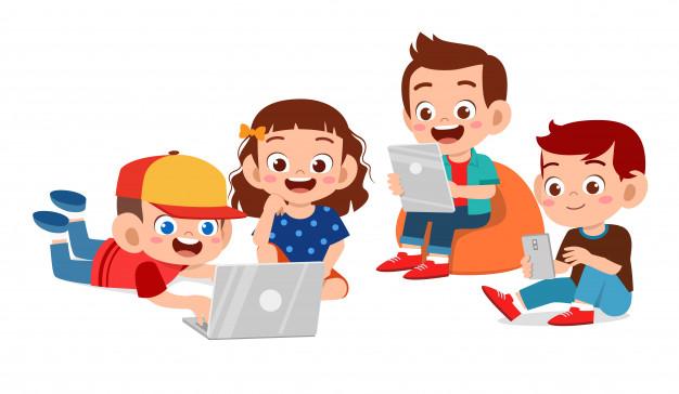 Học phần mềm Scratch sẽ giúp các bé trau dồi được kỹ năng làm việc nhóm