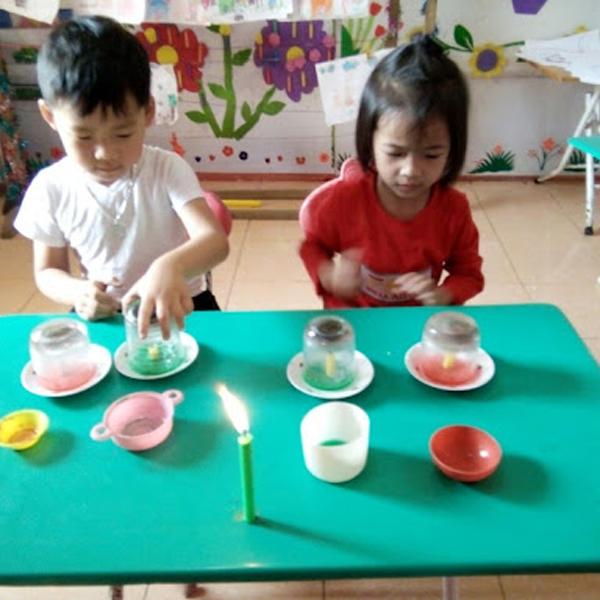 Thiết kế phòng thí nghiệm tại nhà cho trẻ mùa giãn cách