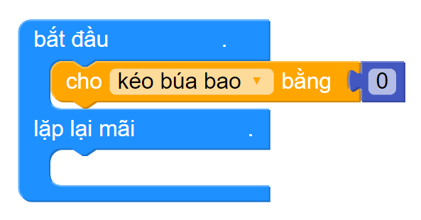 Hướng dẫn lập trình cách chơi Oẳn Tù tì cùng Yolo:Bit