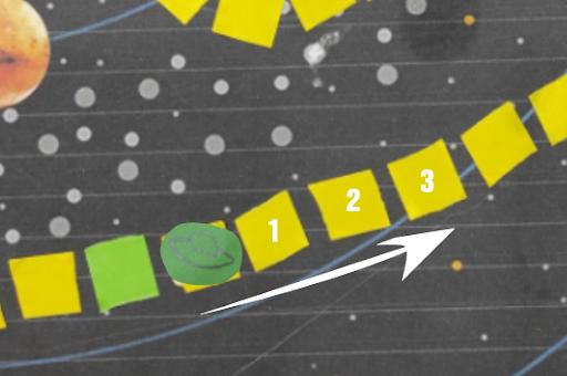 Board Game: Cuộc đua không gian kỳ thú với Yolo:Bit