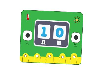 Lập trình máy tính điểm số trên Yolo:Bit